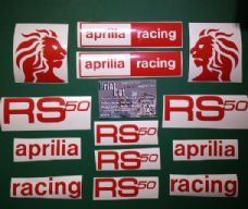 APRILIA RS50 Decal/ Sticker Pack  (type2)